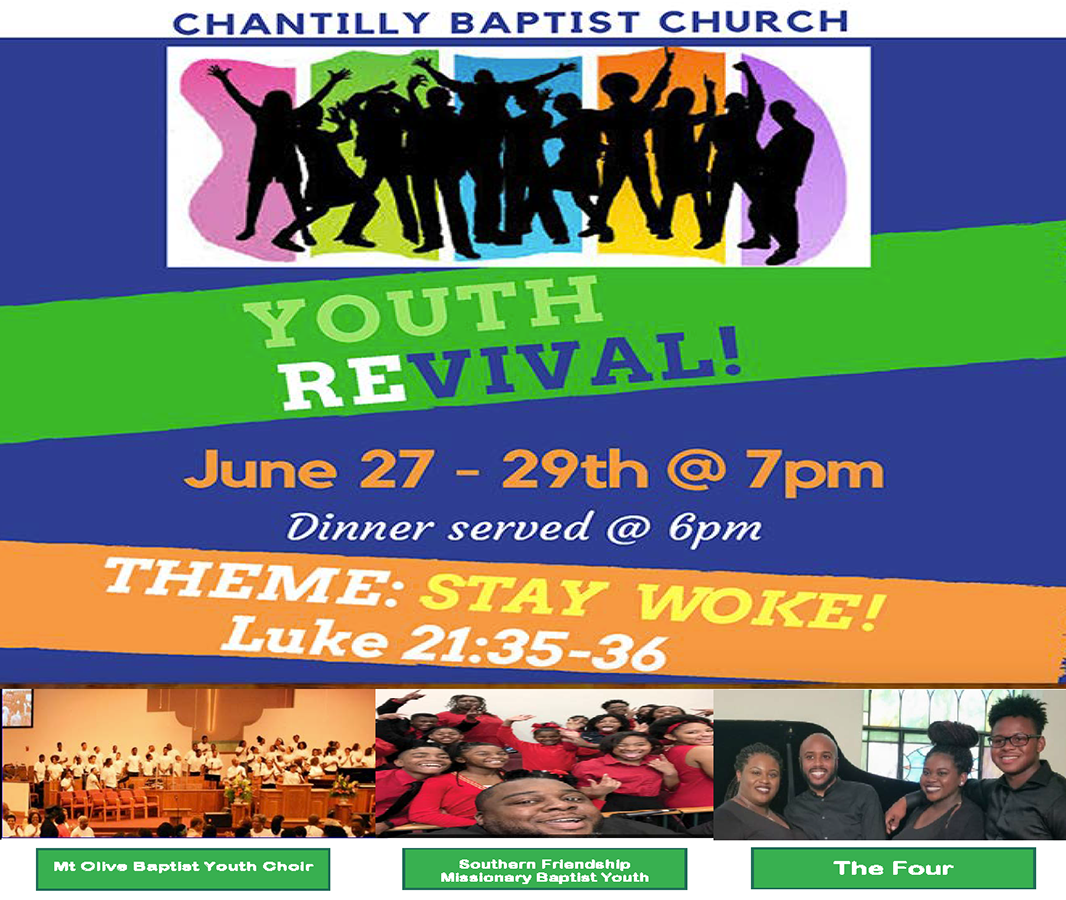 Youth Pastor Church Nite: Chantilly Baptist Church