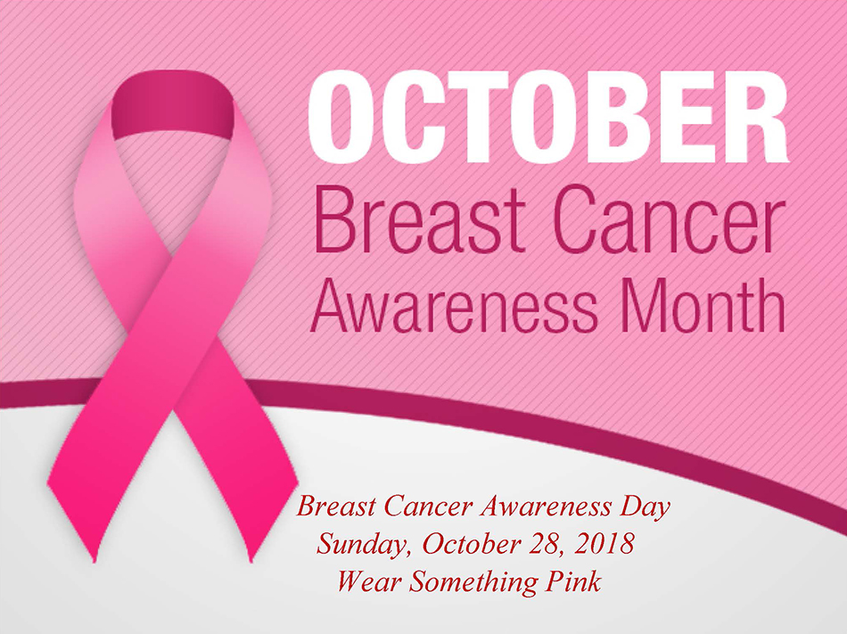 Breast Cancer Awareness Day - Wear Something Pink @ Chantilly Baptist Church | Chantilly | Virginia | United States